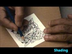 ABC of Zentangle I video - Ing, Inapod, Indy Rella, Insydout, Ixorus tangles Doodle Patterns, Zentangle Patterns, Doodle Ideas, Doodle Coloring, Doodles Zentangles, Zen Doodle, Doodle Drawings, Beautiful Patterns, Art Tutorials