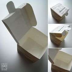 Tetra Pak Box - looks so good; perfect for keeping small things in...