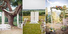 Ceremony Backdrop Ideas for an Outdoor Wedding | www.onefabday.com