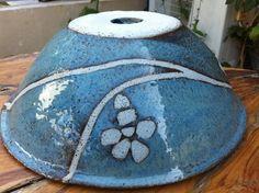 כיור קרמיקה בעבודת יד. Handmade ceramic sink - by Yoni Ozer