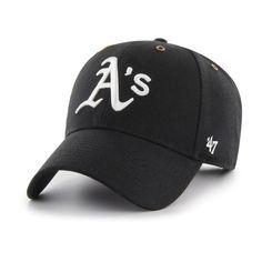 new concept d915d fd6cb Oakland Athletics Carhartt x  47 MVP Adjustable Hat – Black, Your Price    29.99