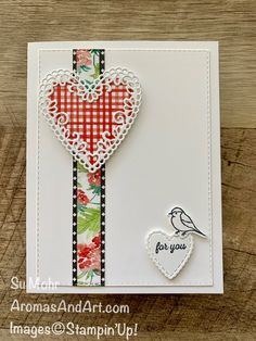 Valentine Day Cards, Valentines, Love Cards, Art Pages, Stamping Up, Paper Design, Stampin Up Cards, Card Making, Paper Crafts