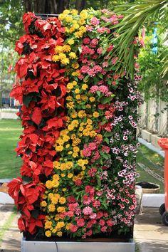 FLOWER WALL (DESIGN AND CONTRUCTION) - Vertical garden