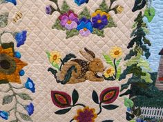 The Raspberry Rabbits: Roll'in Roll'in Roll'in...this quilt tour keeps a Roll'in!