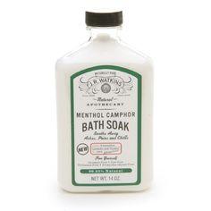 Rank & Style - J.R. Watkins Naturals Menthol Camphor Bath Soak #rankandstyle