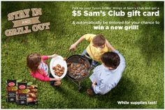 Ad – Get $5 Cash Back on Tyson Grillin' Wings at Sam's Club #whatsgrillin