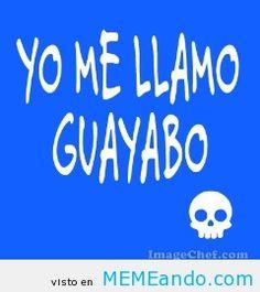 Yo me llamo guayabo
