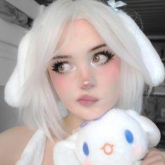 Edgy Makeup, Baddie Makeup, Grunge Makeup, Cute Makeup, Makeup Looks, Hair Makeup, Aesthetic Makeup, Aesthetic Girl, Aesthetic Anime