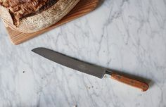 Sabatier stands for the highest quality French since Knife made of stainless steel with high carbon content. Along with the forging process, the high carbon steel is so hard that you can grind a very sharp, fine edge. High Carbon Steel, Knife Making, Carafe, Kitchen Knives, Provence, Food, Bread, Shopping, Decanter