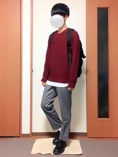 久しぶりの投稿です! 今回はワインレッドのスウェットコーデです(^^) Normcore, How To Wear, Style, Fashion, Swag, Moda, Fashion Styles, Fashion Illustrations, Outfits