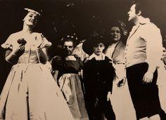 Dame Joan Sutherland as Amina and Luciano Pavarotti as Elvino in La Sonnambula, The Sutherland-Williamson Australian Tour, 1965.