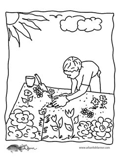 15 Best 4 H Garden Coloring Pages Images Garden Coloring Pages