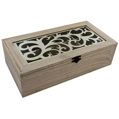 Decorative Wooden Box - Assorted    Valentines Gifts for Her at The Works