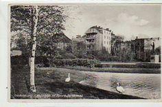 Insterburg Ostpreussen Anlagen mit Sportdenkmal ca 1940
