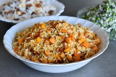 אורז חגיגי בשלושה טעמים