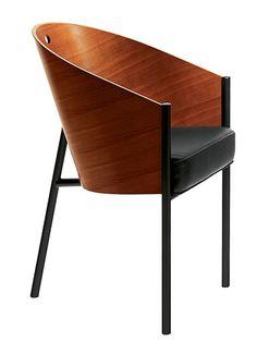 Costes Silla de Driade Store El famoso diseñador Philippe Starck también empezó modestamente: La silla con apoyabrazos Costes es uno de sus primeros diseños mundialmente conocidos. Diseñada por Philippe Starck en los años 1980, por encargo del famoso café parisino Café Costes la silla Costes, equipada con apoyabrazos y tres patas, enseguida se convirtió en uno de los muebles más solicitados a nivel mundial. http://www.topdeq.es/topdeq/ProductDetail.action?R=8797470982145&N=4032