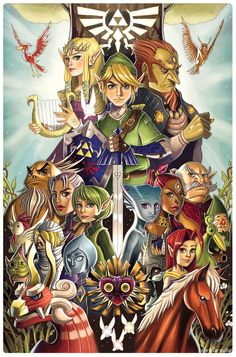 I love The Legend of Zelda its awesome