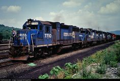 RailPictures.Net Photo: RJC 7710 R.J. Corman Railroads EMD GP38 at Clearfield, Pennsylvania by BurghMan