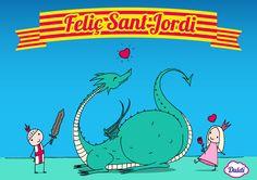 Feliç dia del llibre i de la rosa a tothom! Feliç Sant Jordi :)