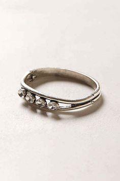 Hinged Bracelet, $38