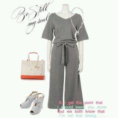 #knit #pumps #bag #necklace #fw #collection #coordinate #grey #tokyo #iQON #pintarest #mao_pak #o_range o(^-^o)(o^-^)o (Tokyo Opera City Tower)