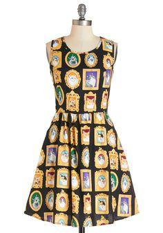 Mew-seum Visit Dress, @ModCloth