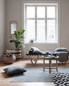 A light and airy Danish home with natural touches - my scandinavian home