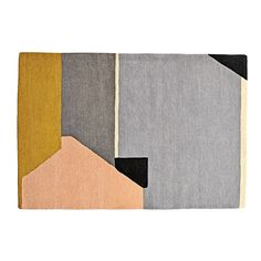 Land of Nod abstract rug