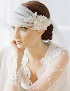wedding+caps+and+veils+-+bridal+headwrap+