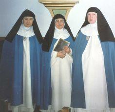photos of nuns | Three Conceptionist Nuns in Agreda, Spain