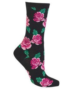 Buckle-Down Unisex-Adults Socks Love Pink Crew Multicolor,