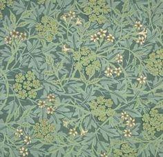 Jasmine wallpaper design by William Morris