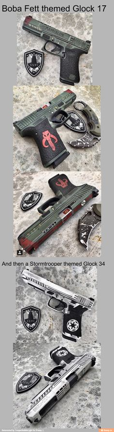 Boba fat and clone storm troopers Glock