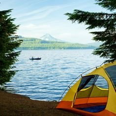 Perfect campgrounds for first-timers