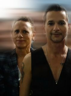 Dave Gahan and Martin Gore of Depeche Mode, Gahore