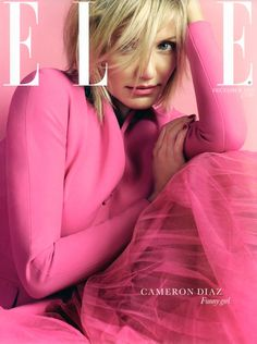 UK Elle December 2012 : Cameron Diaz by David Slijper