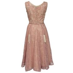 1950s+Full+Sweep+Dress+Pink,+450€, now featured on Fab.