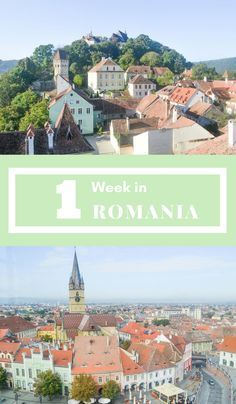 One week in Romania **** Romania | Transylvania | Bucharest | Cluj | Romania in 1 week | backpacking Romania | Romania tips | Romania Guide | Brasov | Bran Castle | Peles Castle | Europe