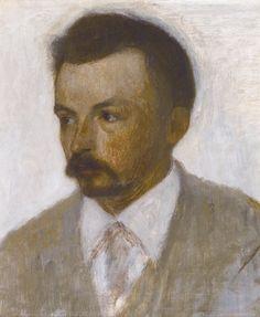 Vilhelm Hammershøi, Self-portrait, 1895.