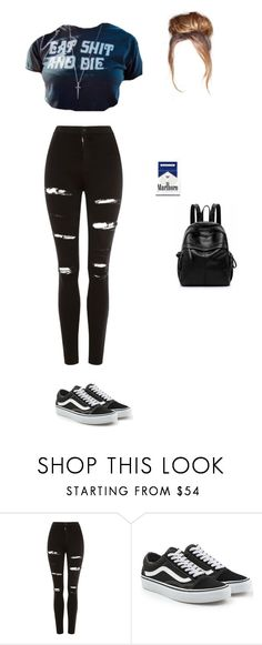 """Untitled #476"" by ericanunes on Polyvore featuring Topshop and Vans"