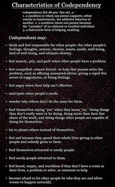 Codependencies