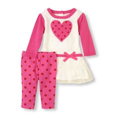 The perfect find for any mommy who loves matching sets! #bigbabybasketsweeps -  www.childrensplace.com/bigbabybasket