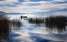 Γαλήνη και ομορφιά που συναρπάζει σε λίμνες της Ελλάδας - Flashnews.gr