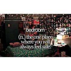 Yes. I always feel safe curled up in a ball on my bed