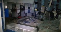Criminosos explodem caixas eletrônicos de banco em Taubaté - Infotau