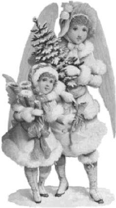 Victorian Angels Victorian Angels, Bottle Cap Art, Cherubs, Smurfs, Scrap, Fairy, Christmas Ornaments, Holiday Decor, Gifs
