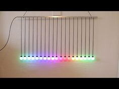 Ping-pong balls and Neopixel - YouTube