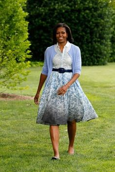 such a well dressed first lady, i must say