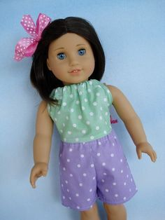 "18"" Doll Clothing Set - 6 pieces"