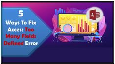 Learn how to fix Access too many fields defined error. Fix 1# Compact Your Database, Fix 2# Create A Fresh Copy Of The Table and more… 5 Ways, Microsoft, Fields, Compact, Fresh, Learning, Create, Table